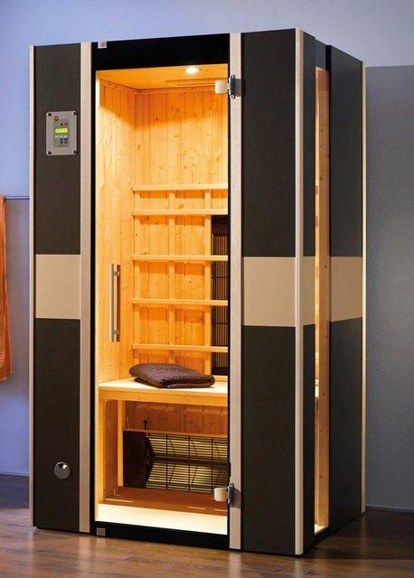 Saunen und Zubehör - weka Infrarotkabine »Vera Gr. 1«, BxTxH 108 x 99 x 190 cm, 59 mm  - Onlineshop OTTO