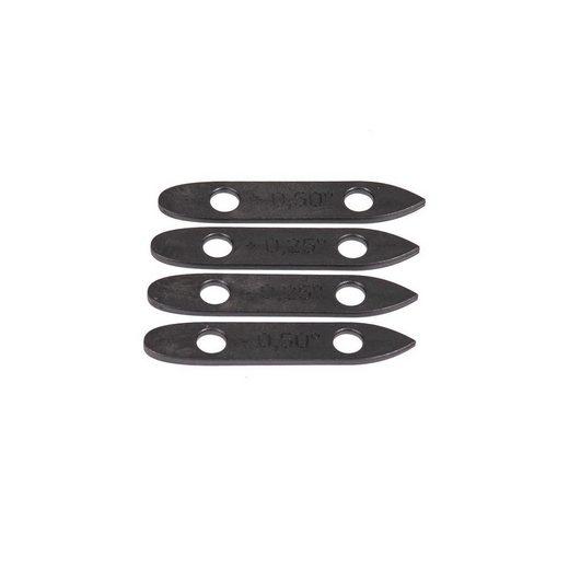 Fanatic SUP-Board »Fanatic Foil Parts Foil Wedge Set (4pcs) black«