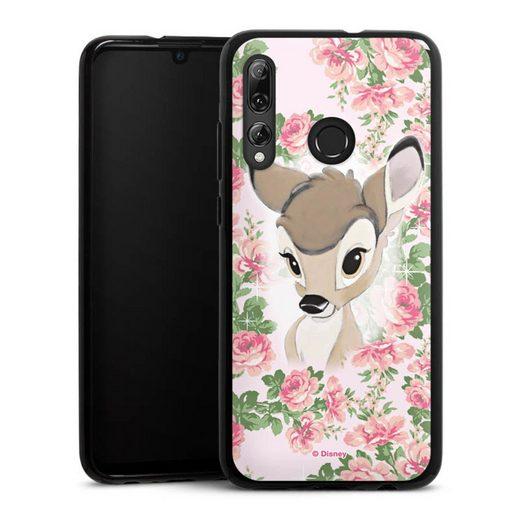 DeinDesign Handyhülle »Bambi Flower Child« Huawei P Smart Plus (2019), Hülle Bambi Disney Offizielles Lizenzprodukt