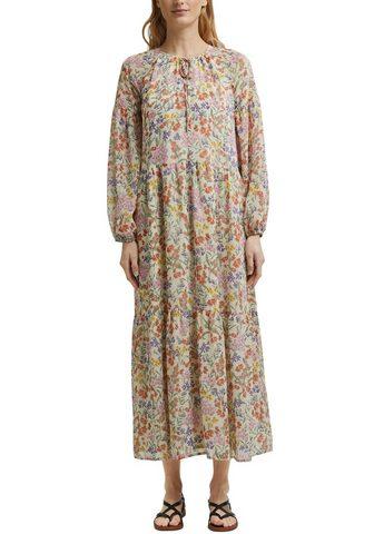 Esprit Ilga suknelė su weiten Ballonärmeln ir...