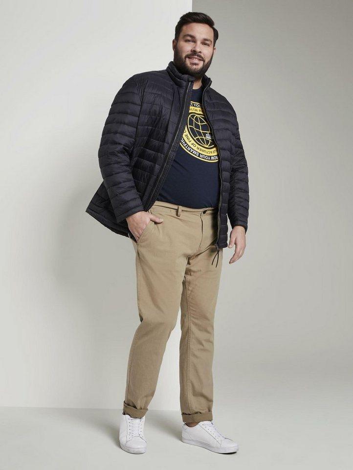 tom tailor men plus -  Chinohose »Slim Chino-Hose«