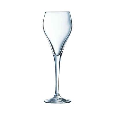 Arcoroc Sektglas »Brio«, Glas, Sektschluckkelch Sektglas 95ml Glas transparent 6 Stück