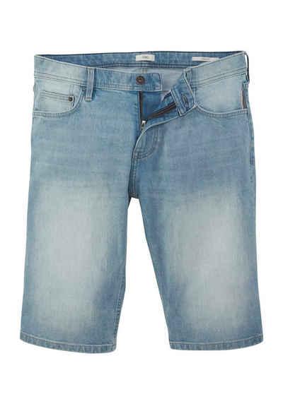 edc by Esprit Shorts mit Lederbadge