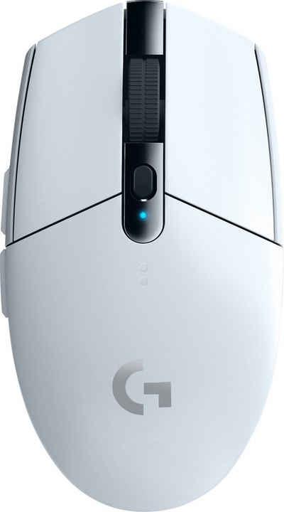 Logitech G »Die G305 ist eine kabellose LIGHTSPEED Gaming-Maus für maximale Performance dank neuester Technologie zu einem erschwinglichen Preis. Jetzt in vielen leuchtenden Farben« Gaming-Maus (RF Wireless)