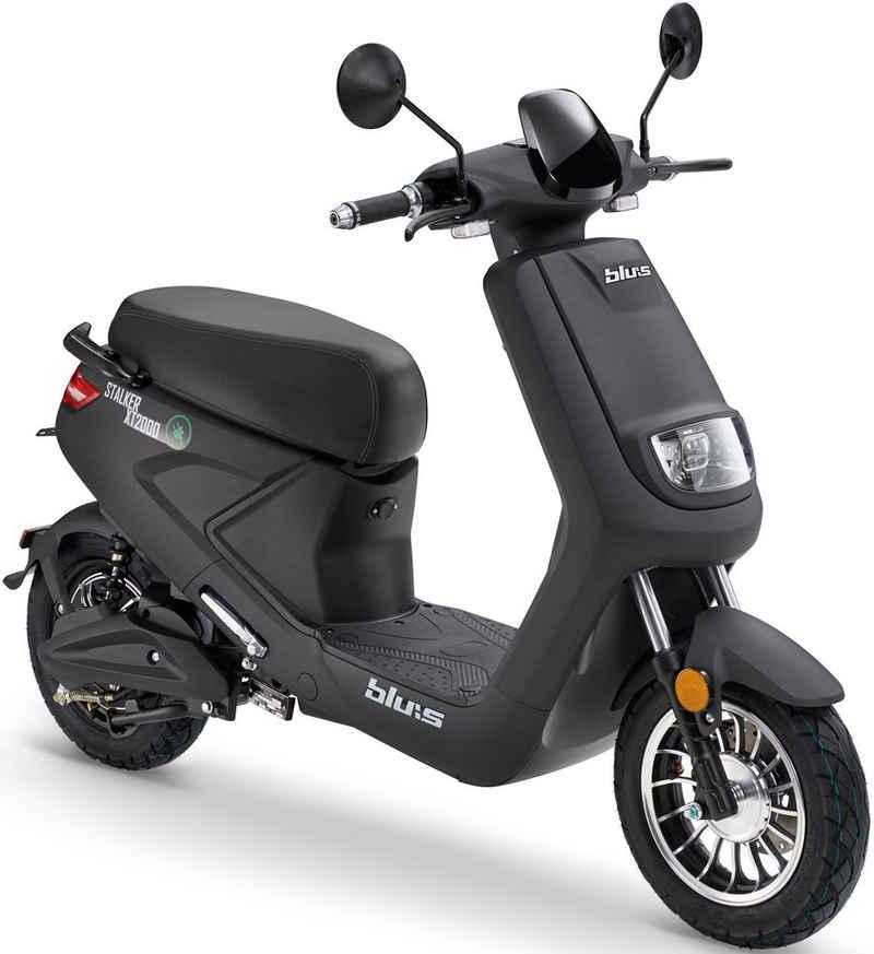 Blu:s E-Mofaroller »XT2000«, 900 W, 25 km/h, Euro 4