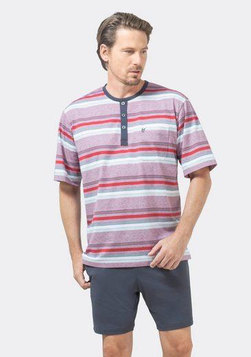 Hajo Pyjama (2 tlg) Klima Komfort Bügelfrei