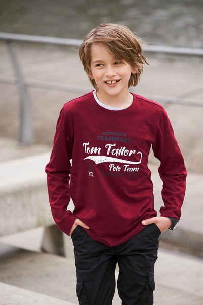 TOM TAILOR Polo Team Langarmshirt »FASHION GEAR«