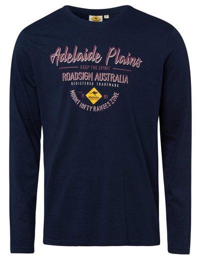 ROADSIGN australia Langarmshirt »Adelaide Plains« (1-tlg) mit Marken-Print