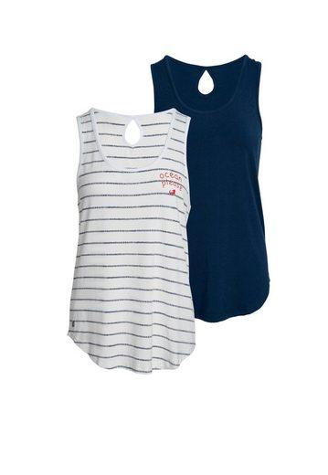 Ocean Sportswear Tanktop »Nachhaltige LENZING™ ECOVERO™ Viskose« (Packung, 2er-Pack)