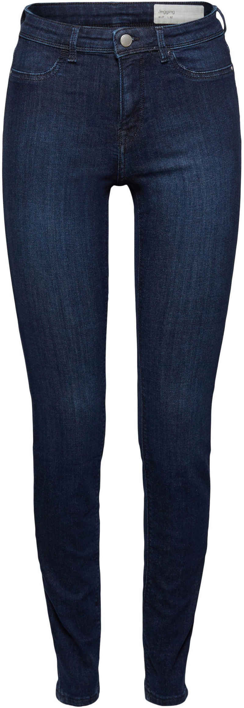 edc by Esprit Skinny-fit-Jeans in cleaner Waschung