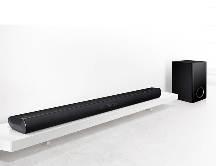 LG LAC450B Soundbar, 120 W, Bluetooth