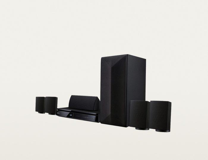 LG LHA725 Heimkinosystem, 3D Blu-ray Player, 1.000 W, 3D-fähig, Bluetooth, Spotify