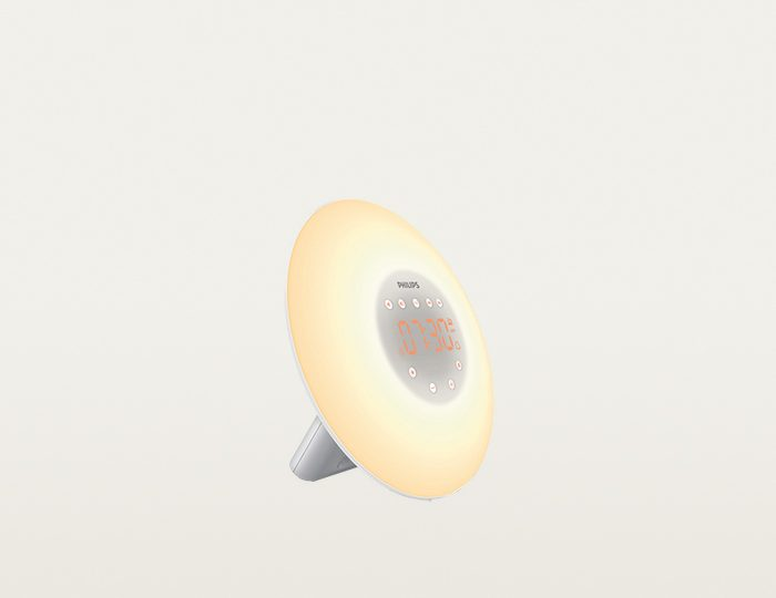 Philips Wake Up Light HF3505/01, mit Sonnenaufgangs-Simulation