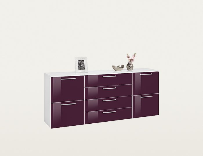 kommode online kaufen wei modern otto. Black Bedroom Furniture Sets. Home Design Ideas