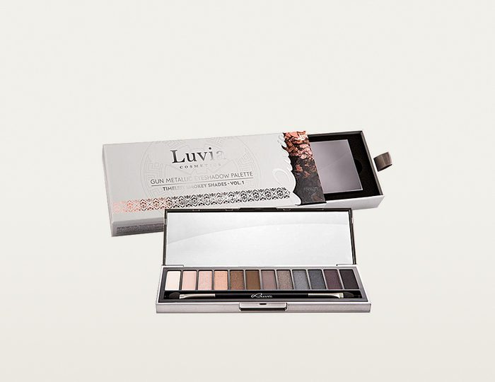 Luvia Cosmetics, »Timeless Smokey Shades Vol.1«, Vegane Lidschatten-Palette