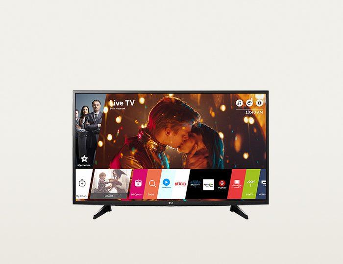 LG 43UH610V LED Fernseher (108 cm (43 Zoll), 4K Ultra HD, Smart-TV) inkl. 36 Monate Garantie
