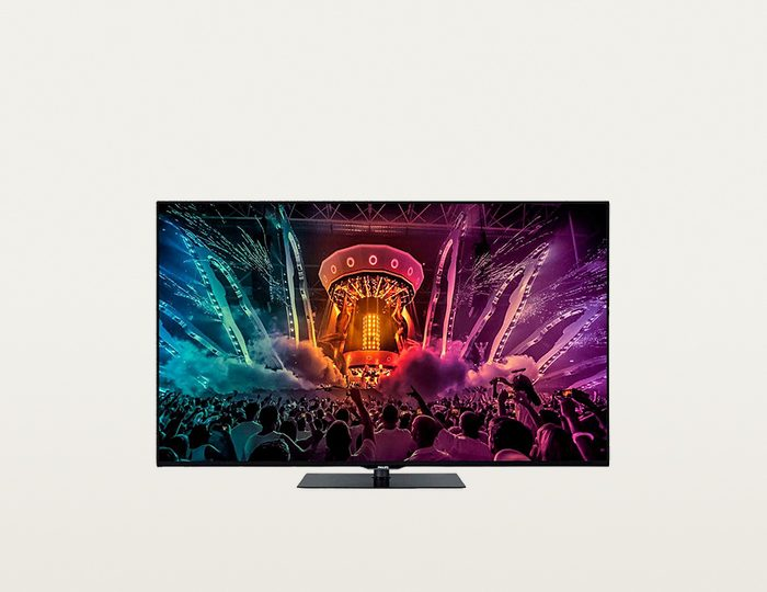 Philips 43PUS6031, LED Fernseher, 108 cm (43 Zoll), 2160p (4K Ultra HD), Smart-TV