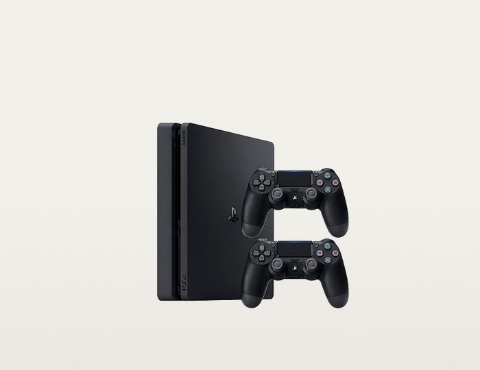 PlayStation 4 (PS4) Slim 500GB + 2. Wireless Controller