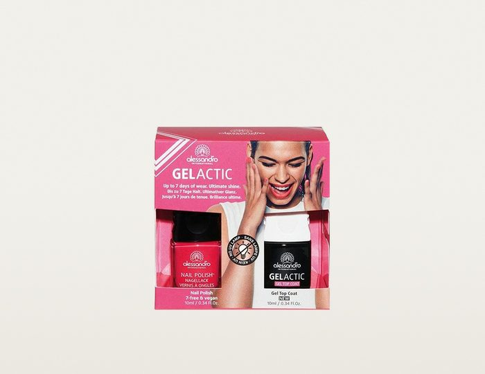 alessandro international, »Gelactic Nail Set Pink«, Nagellack-Set