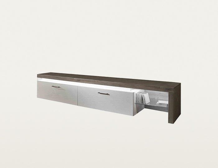 roomed Lowboard »BRUNO« inkl. Korpusbeleuchtung, Breite 230 cm