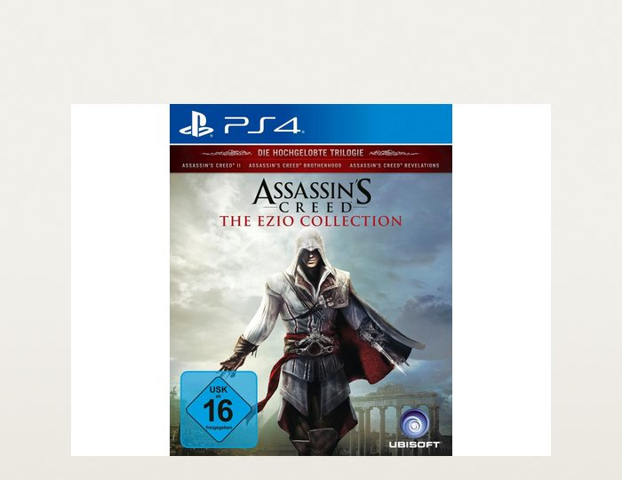 Assassin´s Creed Ezio Collection PlayStation 4