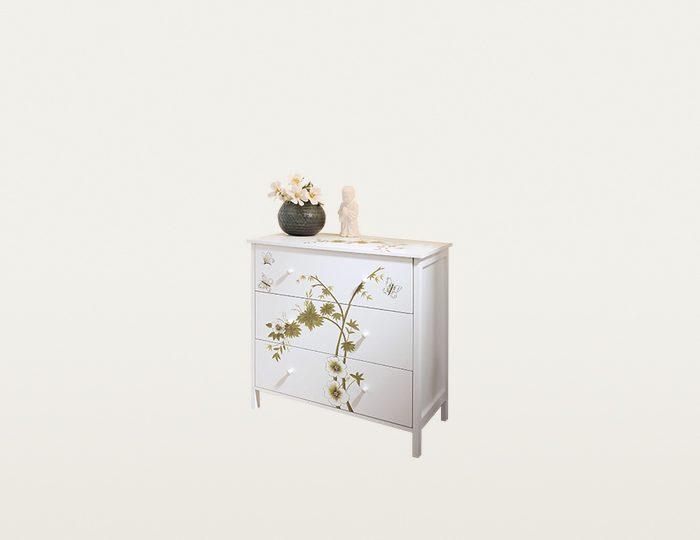 Home affaire Kommode »Flower«, Breite 85 cm