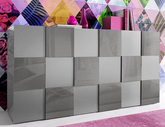 INOSIGN Sideboard in 3-D Optik, Breite 181 cm