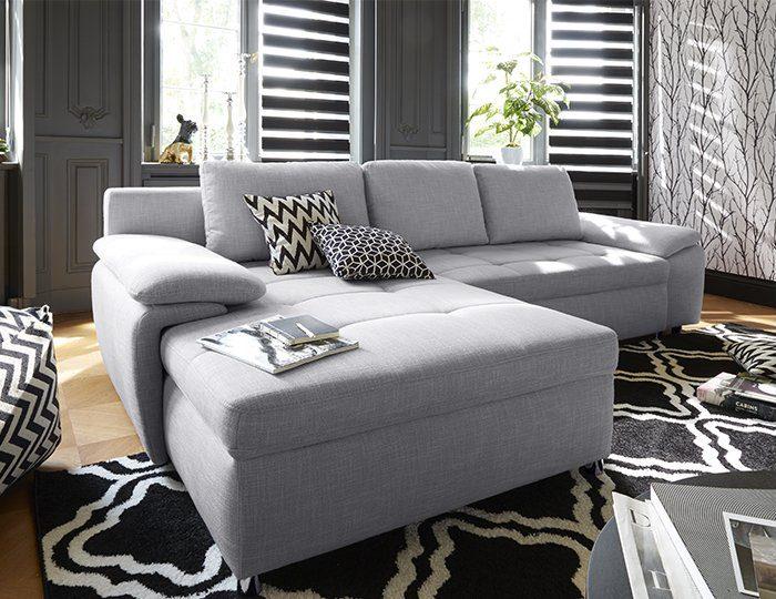 Sit&More Polsterecke XXL »Labene«, wahlweise mit Bettfunktion und Bettkasten