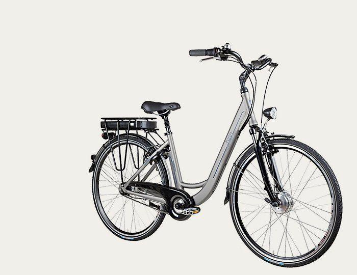 Biria E-Bike City, 28 Zoll, 7-Gg. Shimano Nexus, V-Brake, Vorderradm. 250 W, 36V/ 11Ah