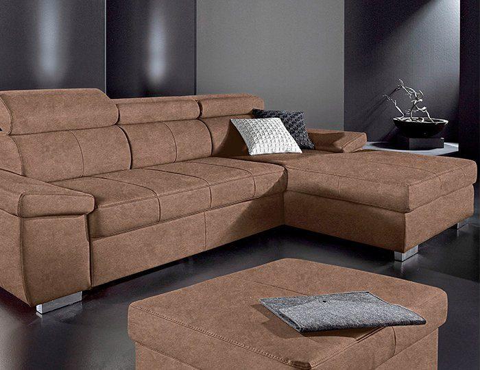 Polsterecke mit Recamiere, Sit & More, wahlweise mit Bettfunktion