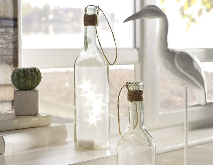 Home affaire LED-Flasche (2-tlg.)