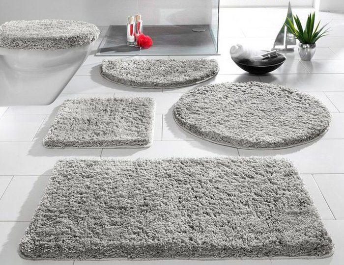 Badematte, my home, »Sanremo«, Höhe 30 mm, Microfaser, rutschhemmender Rücken