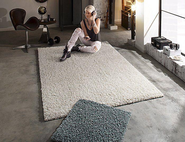 Hochflor-Teppich, Bruno Banani, »Shaggy Soft«, Höhe 30 mm, gewebt