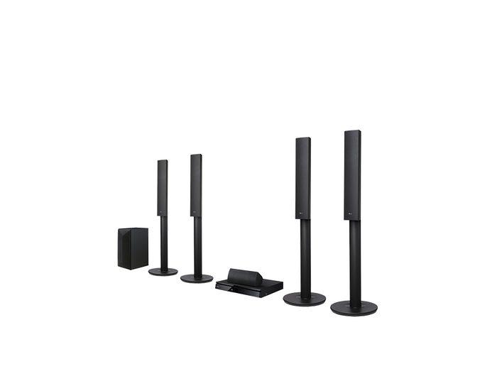 LG LHA755 5.1 Heimkinosystem (3D Blu-ray Player, Hi-Res, 1.000 W, Bluetooth, Spotify)