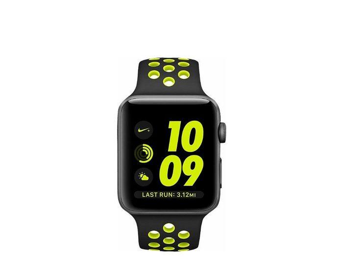 AppleWatch Nike+ Aluminiumgehäuse Space Grau, 42mm, mit Nike Sportarmband
