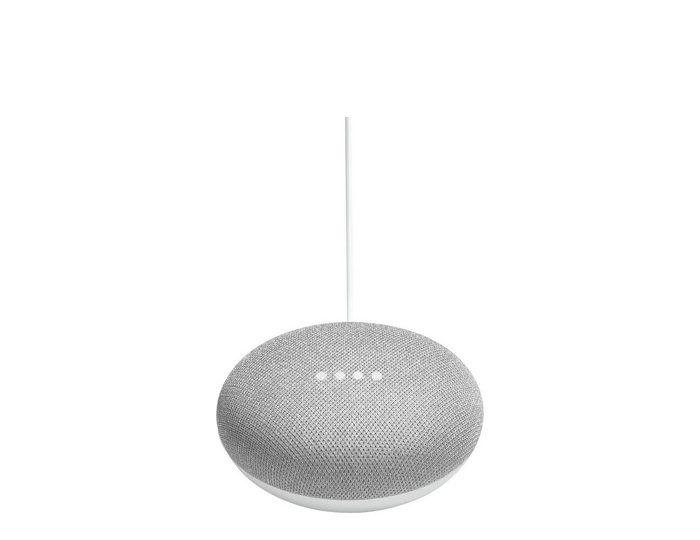 Google Home Mini Sprachgesteuerter Lautsprecher (WLAN (WiFi), Bluetooth, Sprachsteuerung, App-Steuerung, Chromecast)