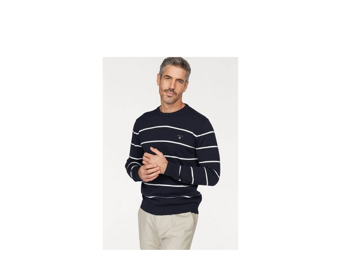 Gant Rundhalspullover »Breton«