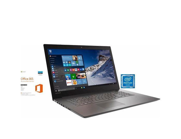 "Lenovo 320-17IKB, 80XM00E8GE inkl. Office 365, 17,3"" Notebook, Intel® Pentium™, 43,9 cm (17,3 Zoll)"