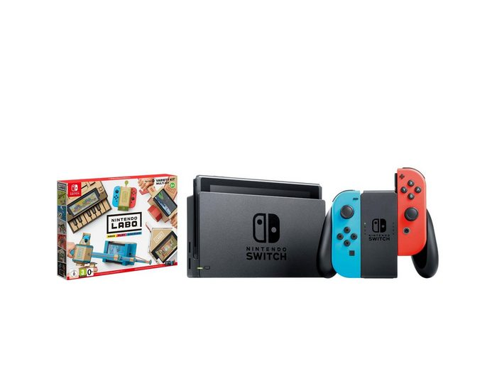 Nintendo Switch (Bundle, inkl. Labo Multi-Set)