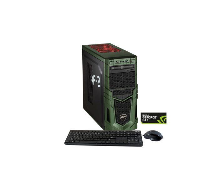 HYRICAN PC Intel® i7-7700, 16GB, SSD+HDD, GeForce® GTX 1080 »Military Gaming 5725«