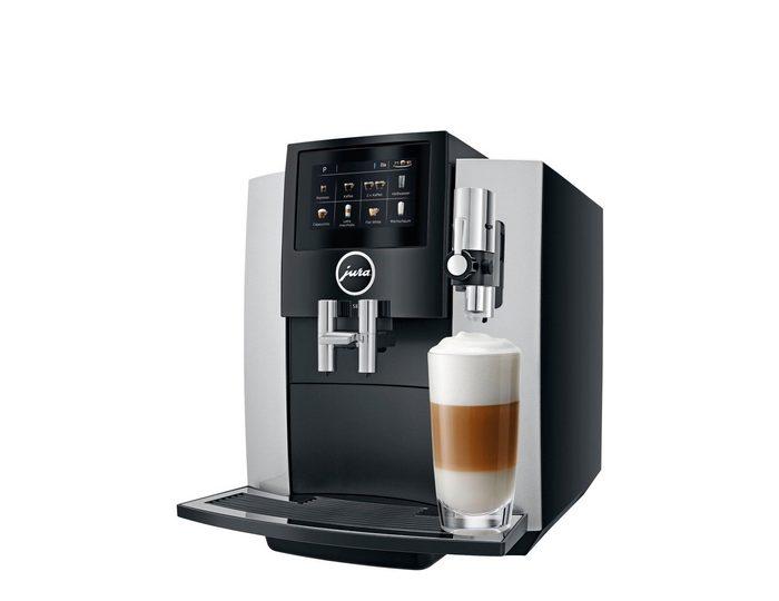 JURA Kaffeevollautomat 15202 S8 Moonlight Silver