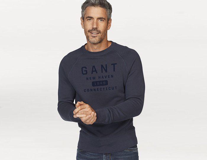 Gant Sweatshirt »NEW HEAVEN«, mit Flockprint