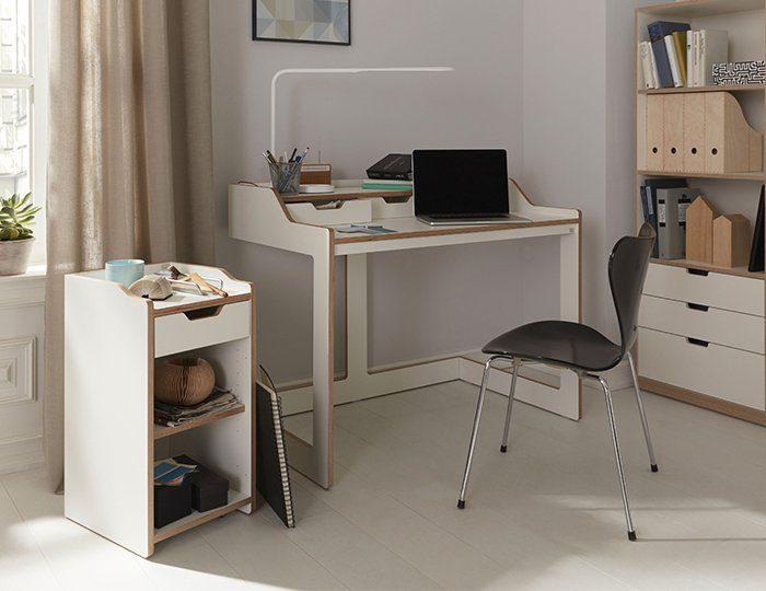 müller möbelwerkstätten® Sekretär »PLANE« praktisch für kleine Räume