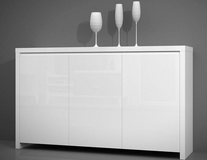 kommode online kaufen hochglanz holzoptik otto. Black Bedroom Furniture Sets. Home Design Ideas