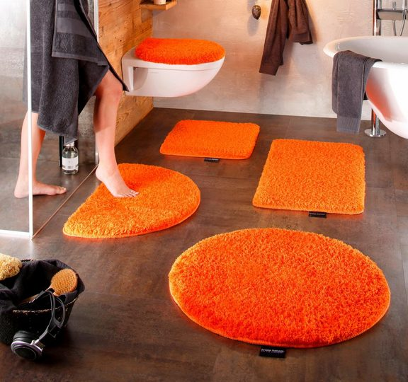 Badematte »Lana« Bruno Banani, Höhe 25 mm, rutschhemmend beschichtet, fußbodenheizungsgeeignet, strapazierfähig