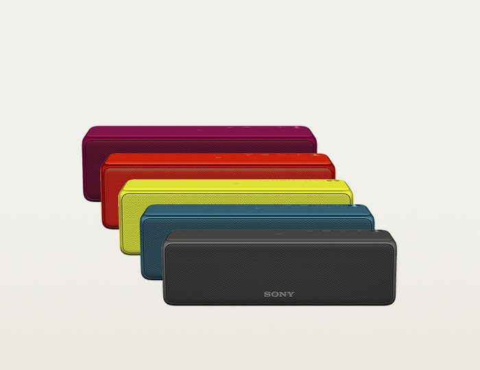 Sony SRS-HG1 tragbarer kabelloser Lautsprecher, Hi-Res, Bluetooth, NFC, Multiroom, USB