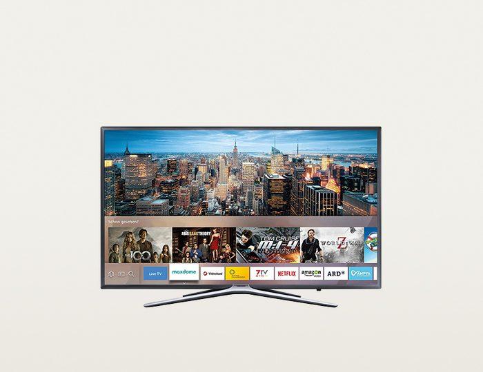Samsung UE40K5579SUXZG LED Fernseher inkl. 36 Monate Garantie (101 cm (40 Zoll), 1080p (Full HD), Smart-TV)