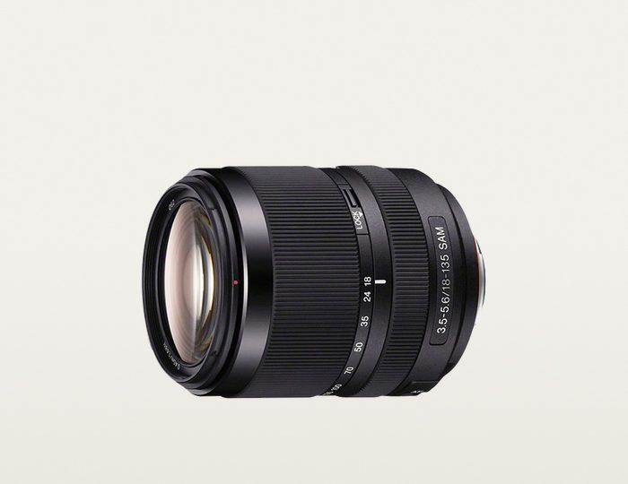 Sony SAL-18135, DT 18-135 mm F3,5–5,6 SAM Telezoom Objektiv