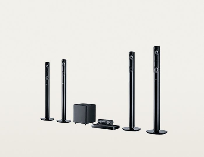 Samsung HT-J5550W/EN 5.1 Heimkinosystem (3D Blu-ray Player, 1.000 W, WLAN, Bluetooth)