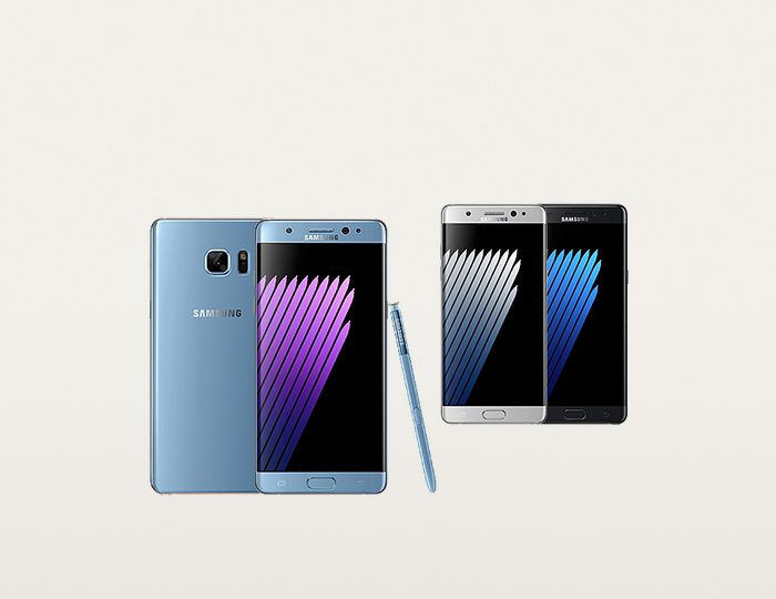 Samsung Smartphone Galaxy Note7, 14,4 cm (5,7 Zoll) Display, LTE (4G), Android 6.0